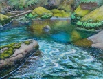 Hamma Hamma Rocks and Pool, 2012,