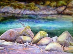 First Light, Canyon Camp, Elwha, 