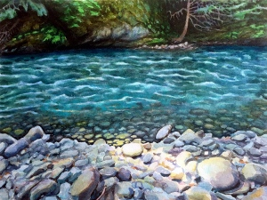 """""""Being With the Flow, Elwha River"""""""