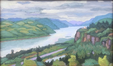 Columbia Gorge Plein Air