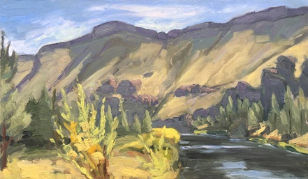 Crooked River Plein Air #1