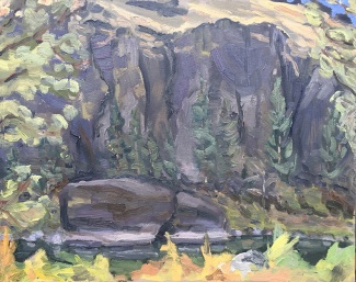 Crooked River Plein Air #2