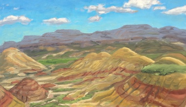 Painted Hills Plein Air