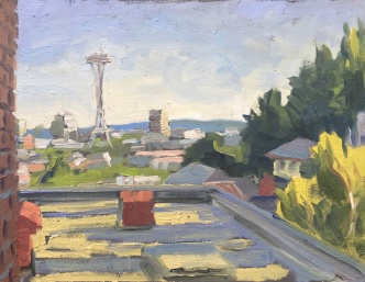 Roof Top Plein Air #5
