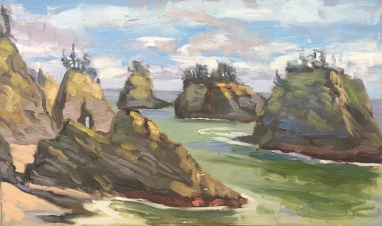 Secret Cove Plein Air