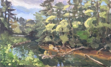 Siltcoos River Plein Air