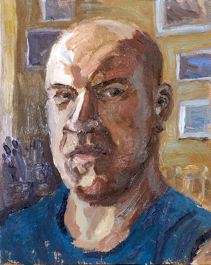 Self Portrait, Quick Study
